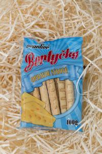 sýrové tyčinky, bertyčky, opravdu sýrové
