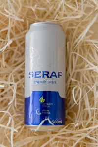 seraf, energy drink