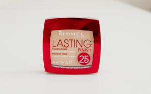pudr, lasting finish, rimmel, 25 hr