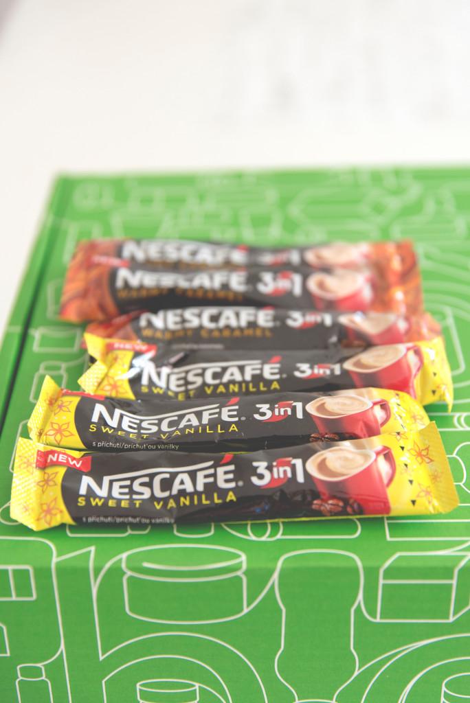 nescafé,příchuť vanilka a karamel, novinka, v prodeji od března 2015