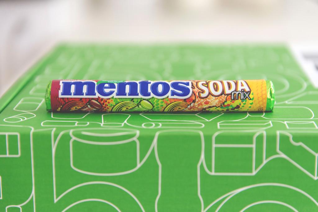 mentos, bonbóny, novinka, cena 17,90 Kč, v prodeji od května 2015
