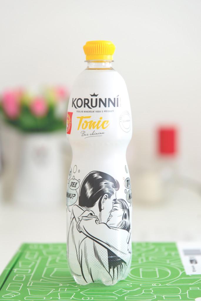 korunní, tonic, 12 kč, Quassin, nealko nápoj