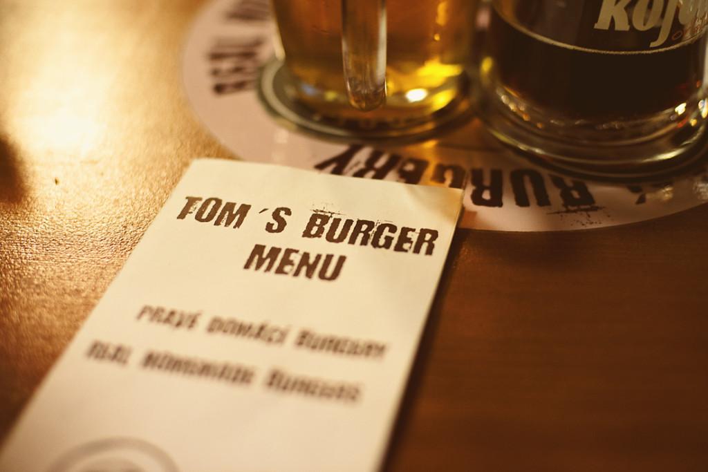 restaurace tom´s burger