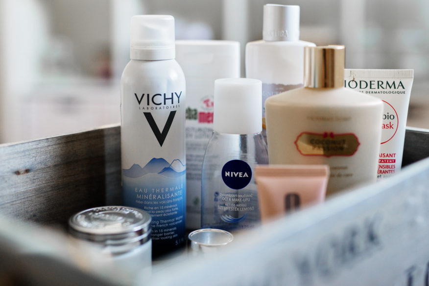 vichy, nivea, clinique