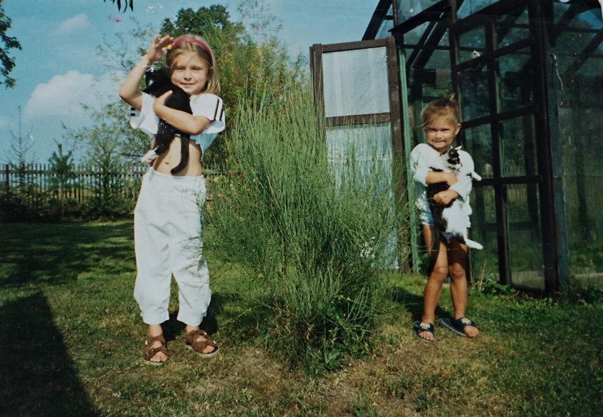 fotky dětství