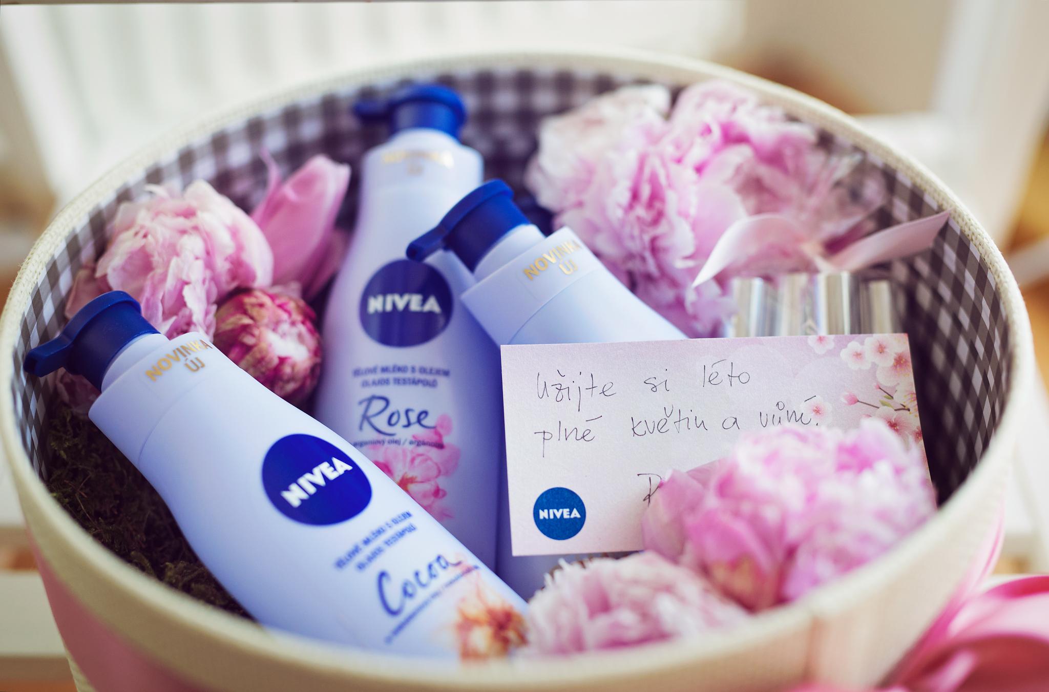 NIVEA Tělová mléka s olejem