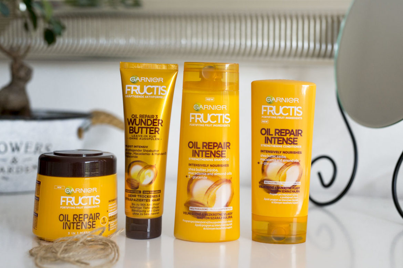 Garnier: Péče na vlasy Oil Repair Intense