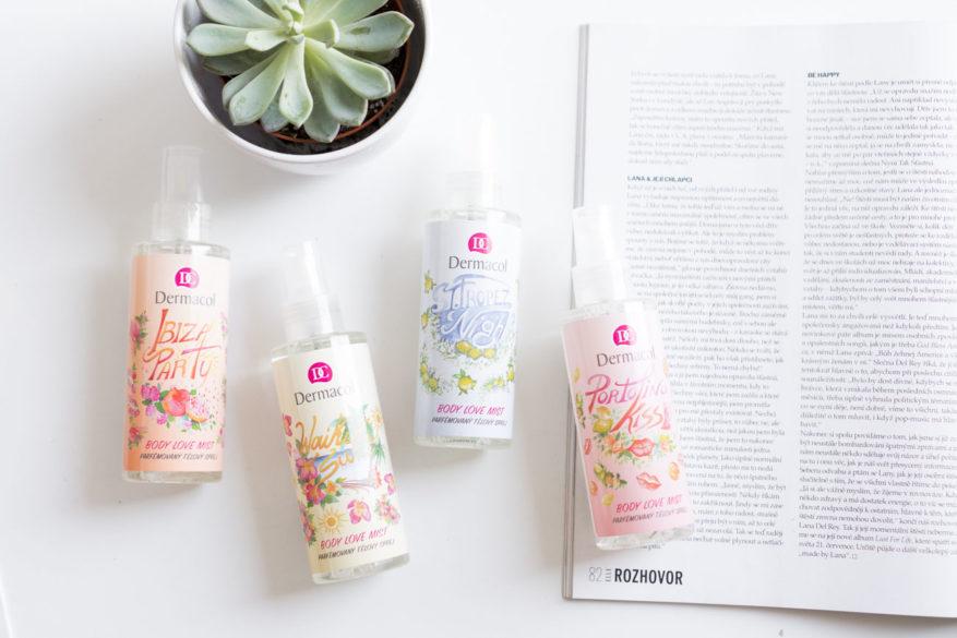 dermacol parfemovaný sprej