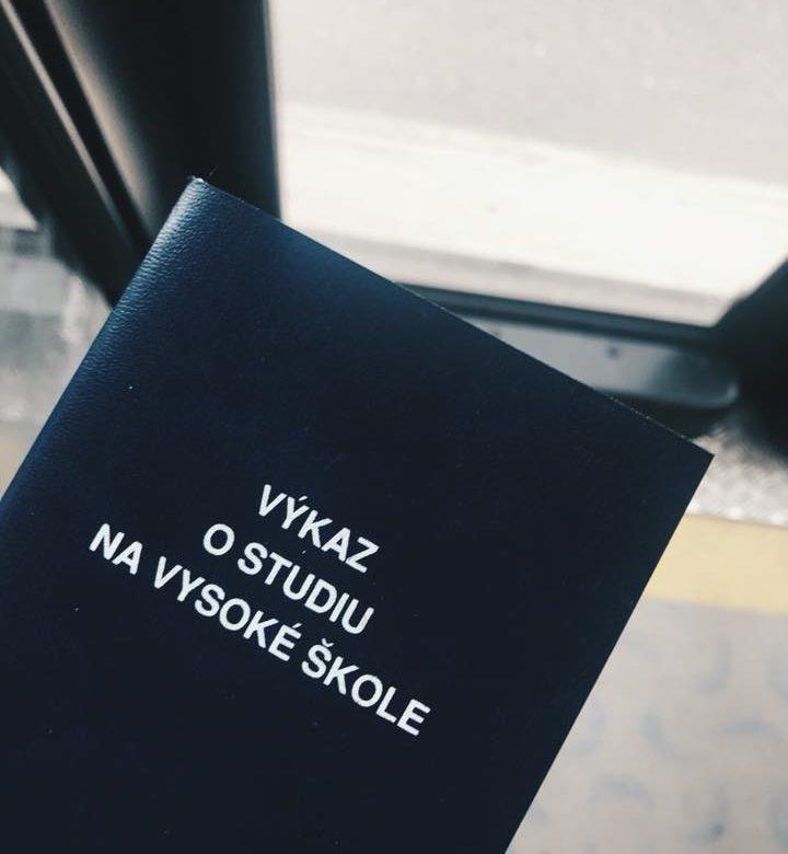 #ze života / Vejška, zkouškové období a státnice