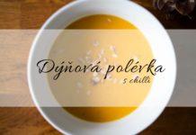 dýňová polévka s chilli