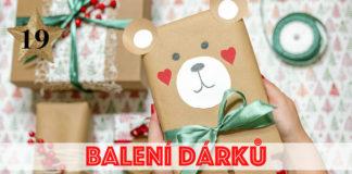 Tipy na balení dárků