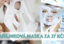 bublinková maska