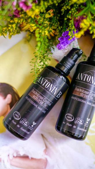 Antonin .B přírodní vlasový styling