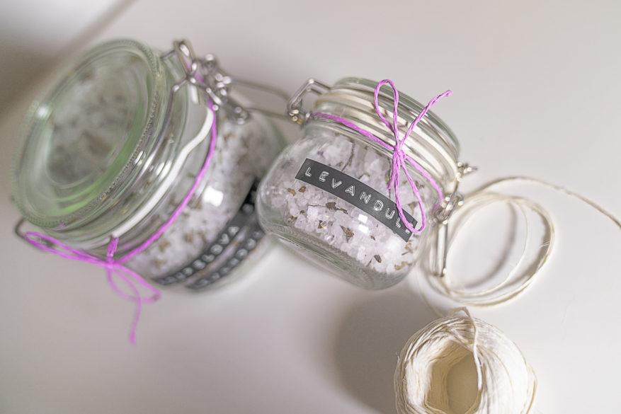 koupelová sůl diy